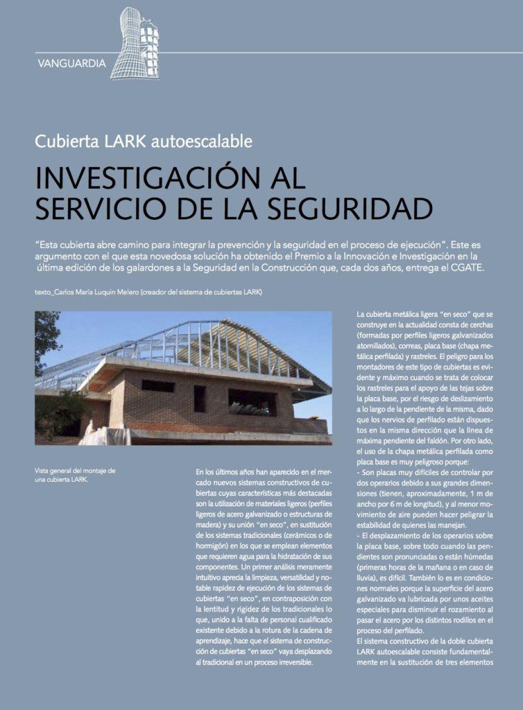 Carlos Luquin Premio Construcción